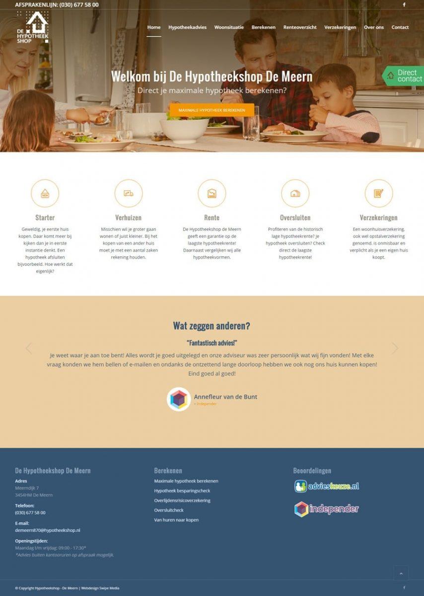 Homepagina - Hypotheekshop De Meern