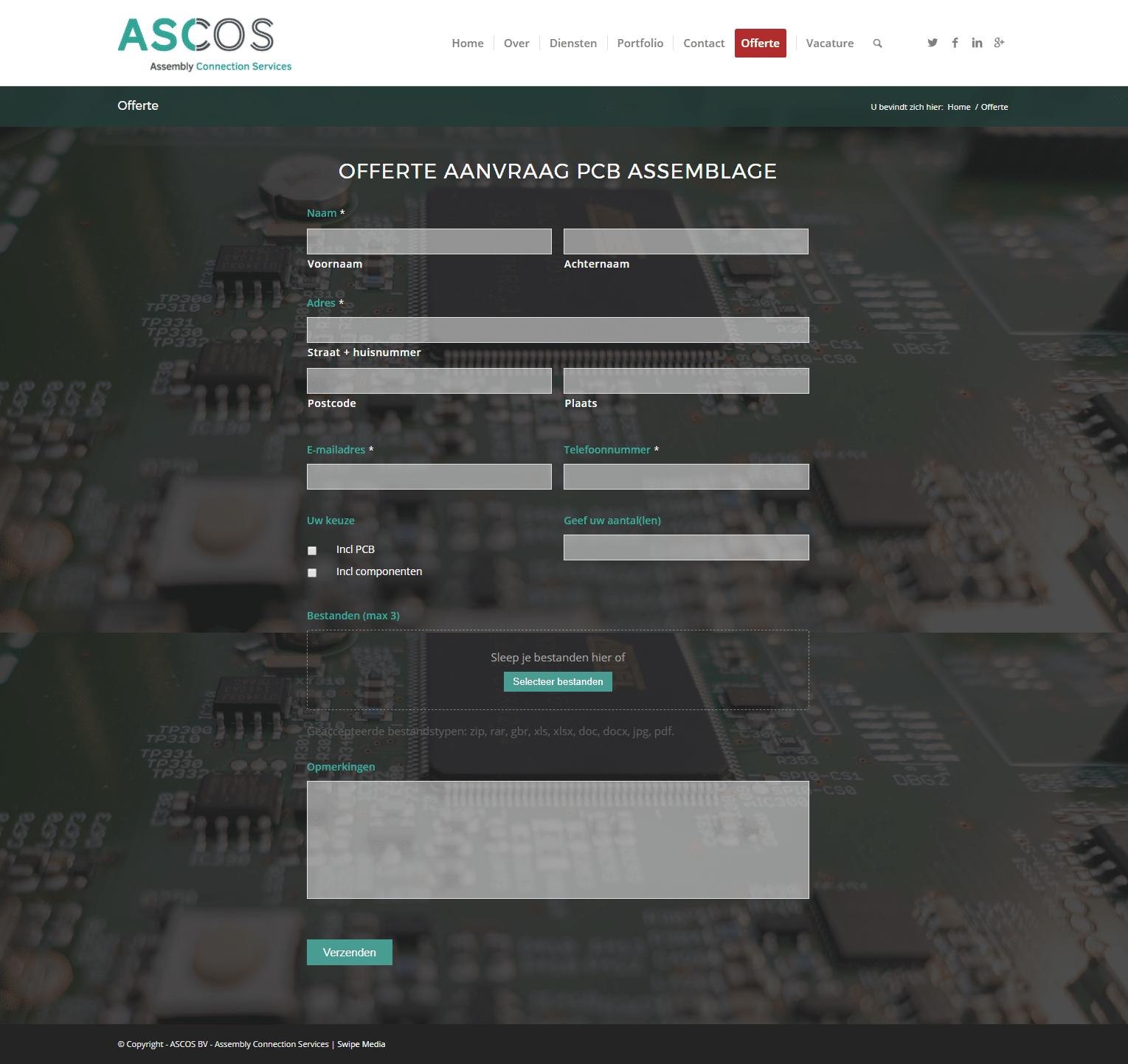 Ascos-Offerte