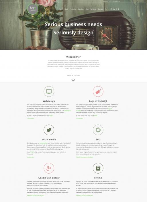 Srsly design - Diensten