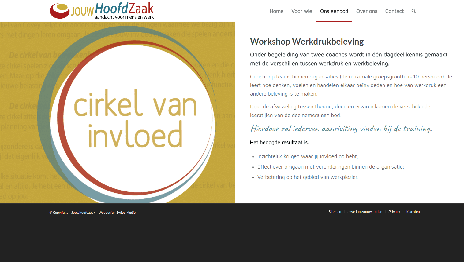 Jouhoofdzaak-Workshop