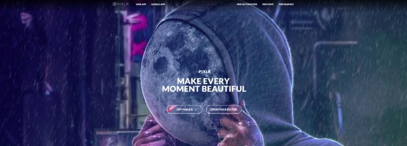 Pixlr Editor X -Gratis fotobewerkingsprogramma