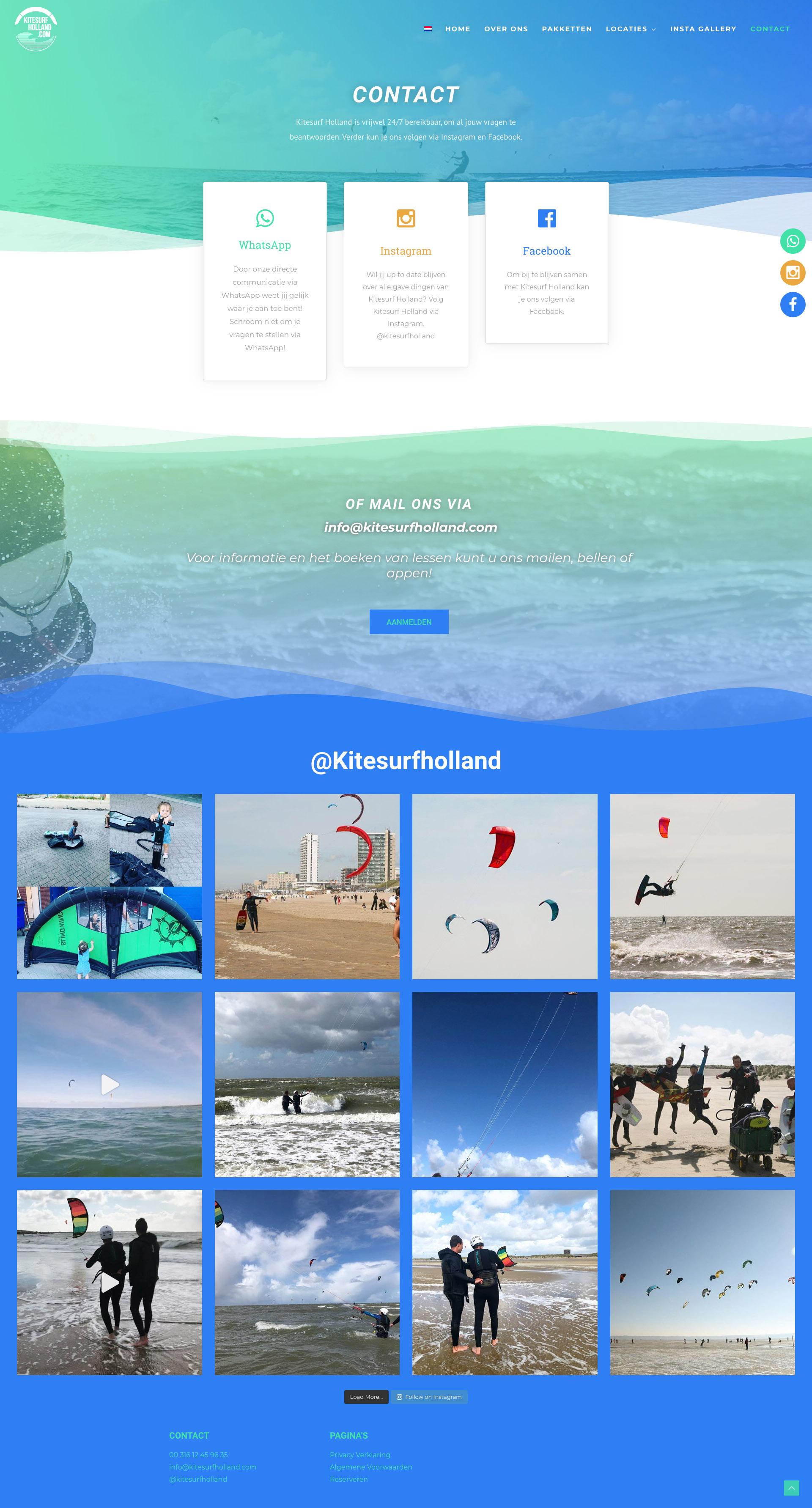 Kitesurfholland - Contact