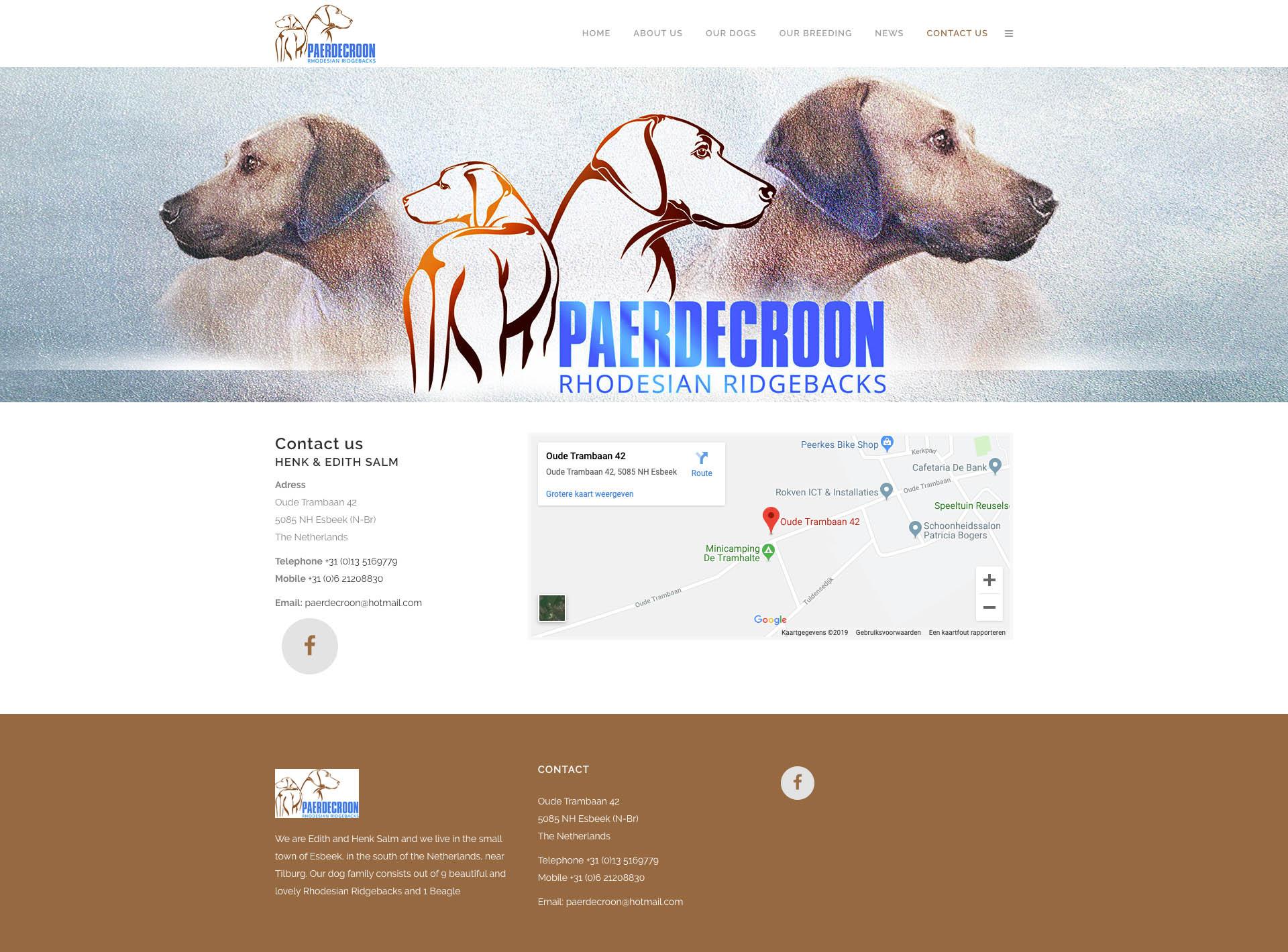 Paerdecroon - Contact