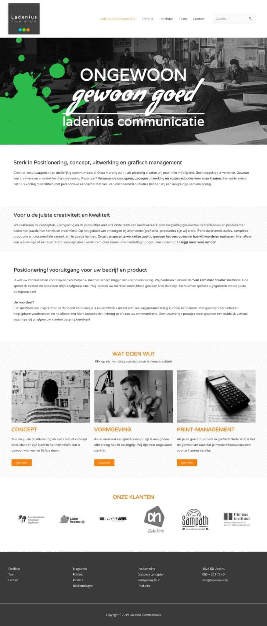 Ladenius Communicatie - Reclame Bureau
