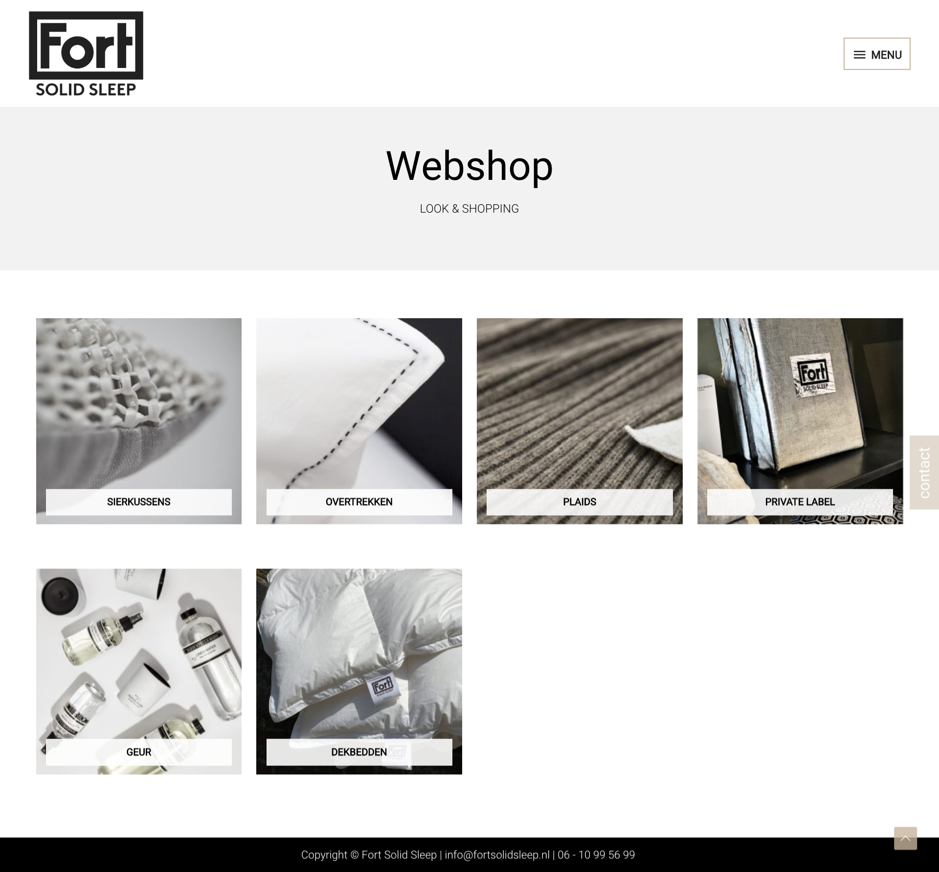 FortSolidSleep - Webshop