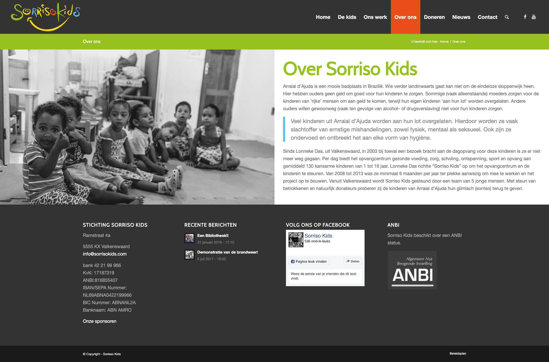 Sorisso Kids - Over Ons
