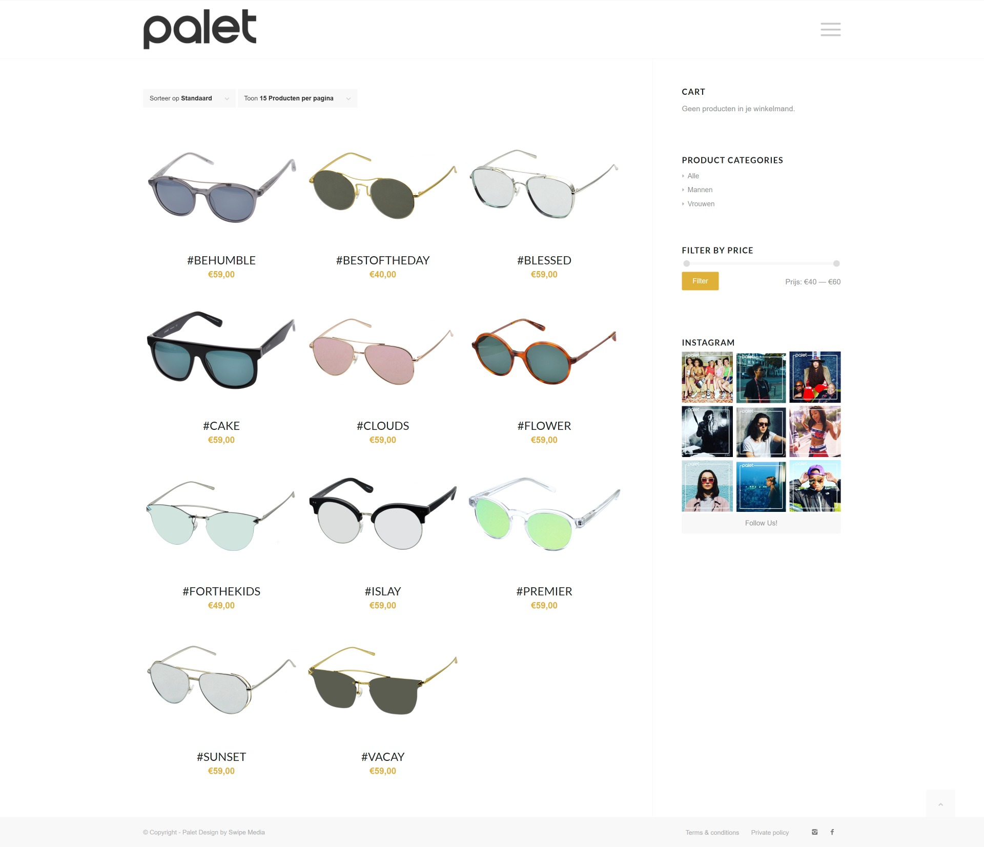 Palet - Shop