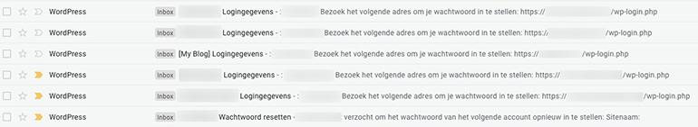 WordPress Mail